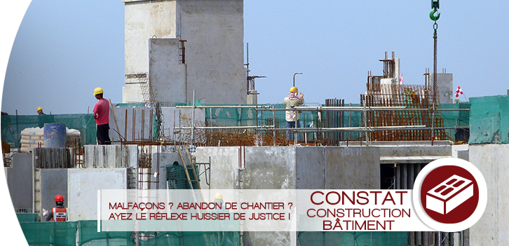 Les constats construction bâtiment