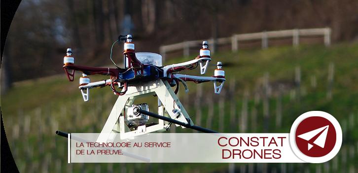 Les drones, la technologie au service de la preuve